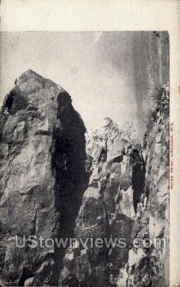 Pikes Peak - Arcadia, Wisconsin WI Postcard