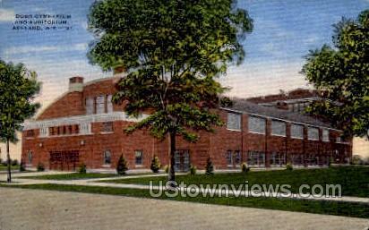 Dodd Gymnasium & Auditorium - Ashland, Wisconsin WI Postcard