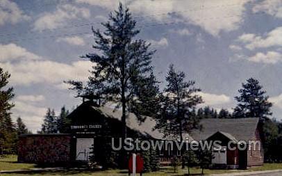 Community Church - Boulder Junction, Wisconsin WI Postcard
