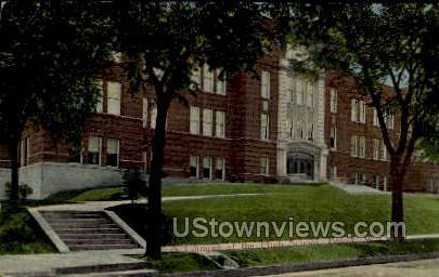 High School Beloit - Wisconsin WI Postcard