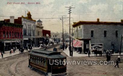 East Grand Avenue - Beloit, Wisconsin WI Postcard