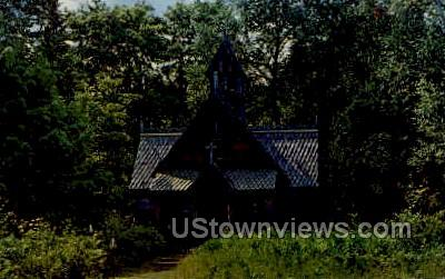 Boynton Chapel - Baileys Harbor, Wisconsin WI Postcard