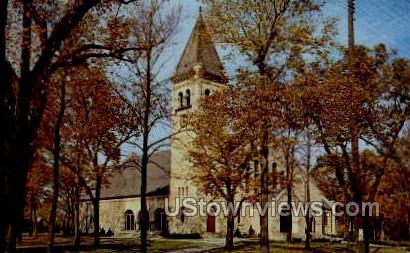 Edward Eaton Chapel - Beloit, Wisconsin WI Postcard