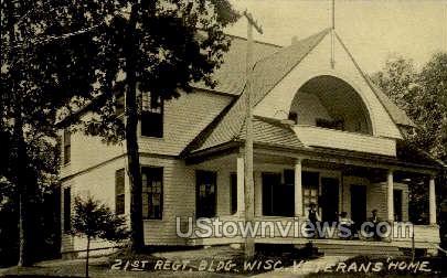 Wisconsin Veterans Home - Misc Postcard