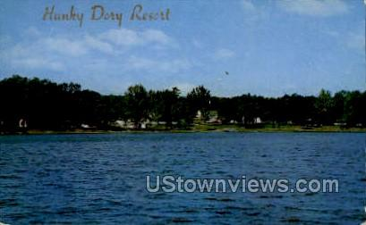Hunky Dory Resort - Balsam Lake, Wisconsin WI Postcard