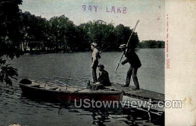 Bay Lake - Misc, Wisconsin WI Postcard