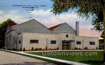 National Guard Armory - Beloit, Wisconsin WI Postcard