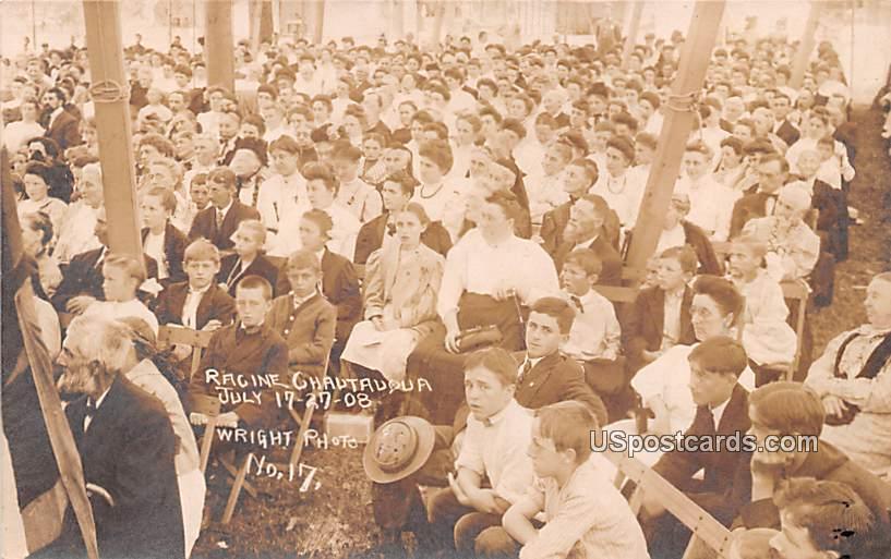 Ragine Chautauqua - Bayfield, Wisconsin WI Postcard