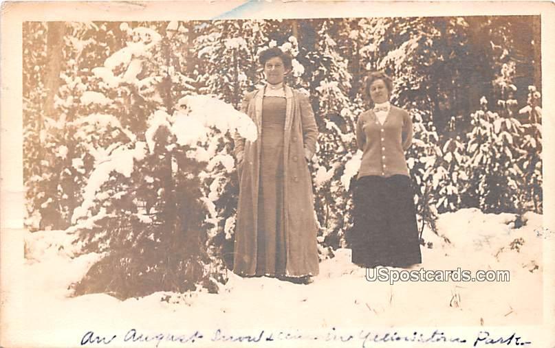 Winter Scene - Beloit, Wisconsin WI Postcard