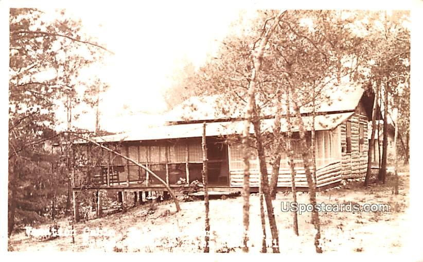 Vacation Cabin - Black River Falls, Wisconsin WI Postcard