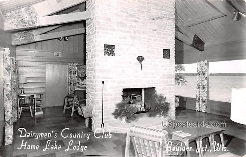 Dairymen's Country Club - Boulder Junction, Wisconsin WI Postcard