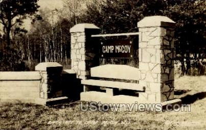 Camp McCoy - Wisconsin WI Postcard