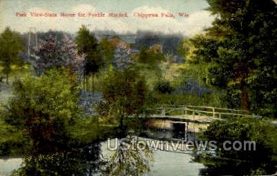 Park View  - Chippewa Falls, Wisconsin WI Postcard
