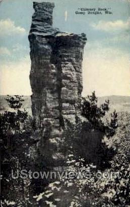 Memorial High School - Chippewa Falls, Wisconsin WI Postcard