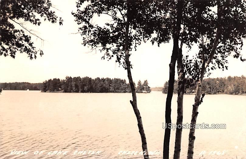 View of Lake Chetek - Wisconsin WI Postcard