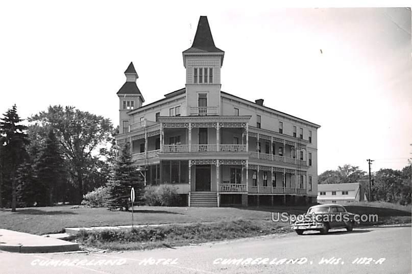 Cumberland Hotel - Wisconsin WI Postcard