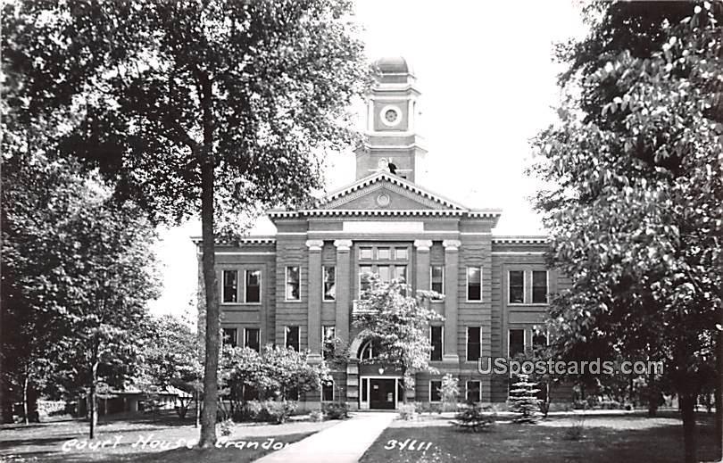 Court House - Crandon, Wisconsin WI Postcard