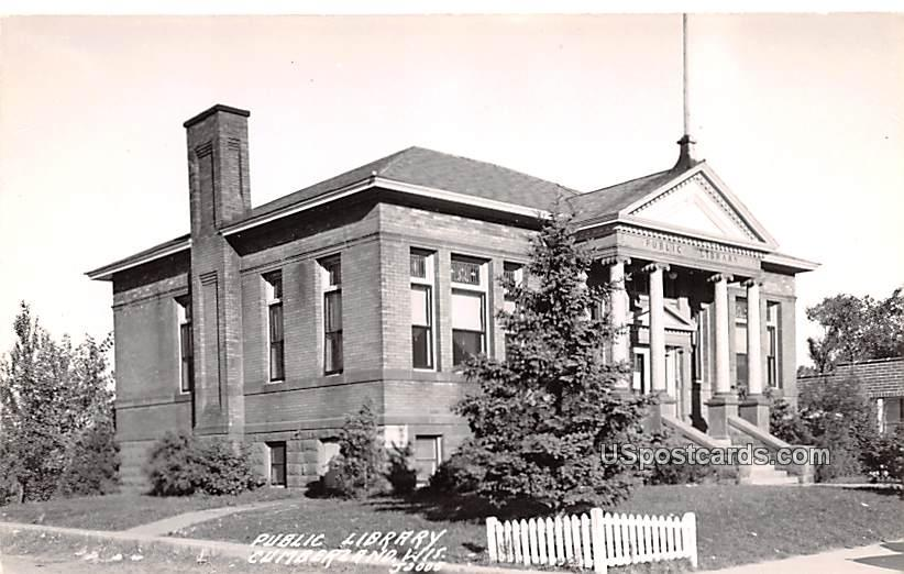 Pubic Library - Cumberland, Wisconsin WI Postcard