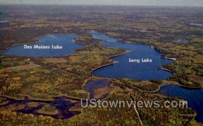 Des Moines Lake  - Wisconsin WI Postcard