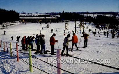 Trollhaugen Ski Area - Dresser, Wisconsin WI Postcard