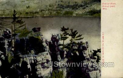 Castle Rock  - Devil's Lake, Wisconsin WI Postcard