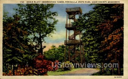 Eagle Bluff - Door County, Wisconsin WI Postcard