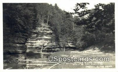 Cold Water Canyon - Dells Of The Wisconsin Postcards, Wisconsin WI Postcard
