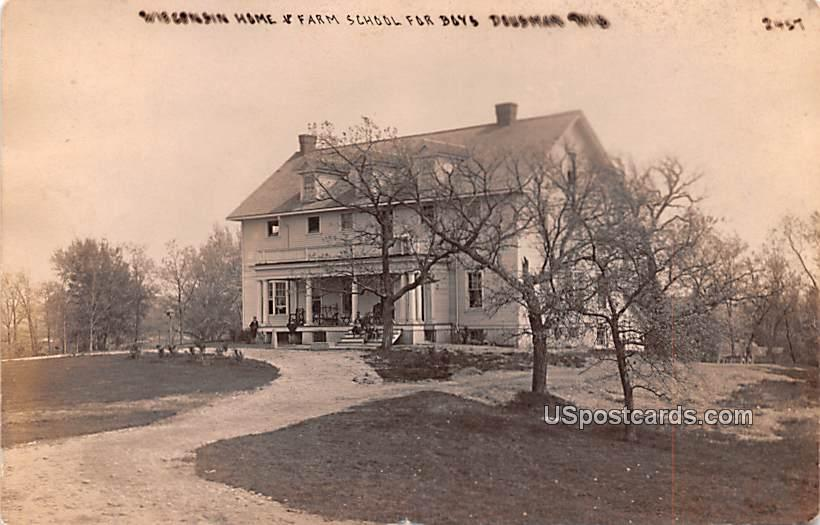 Wisconsin Home and Farm School for Boys - Dousman Postcard