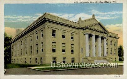 Masonic Temple - Eau Claire, Wisconsin WI Postcard