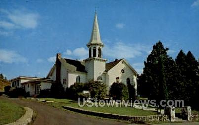 Moravian Church - Ephraim, Wisconsin WI Postcard