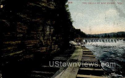 The Dells - Eau Claire, Wisconsin WI Postcard