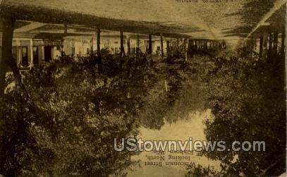 Wisconsin Street - Elkhorn Postcard