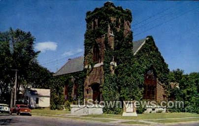 First Congretional Church - Eau Claire, Wisconsin WI Postcard