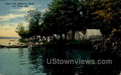 White City - Eau Claire, Wisconsin WI Postcard