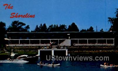Shoreline Motel - Eagle River, Wisconsin WI Postcard