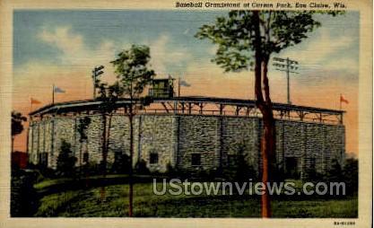 Carson Park - Eau Claire, Wisconsin WI Postcard