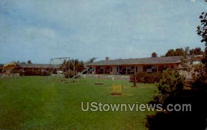 Motel Eau Claire - Wisconsin WI Postcard
