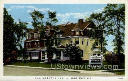 The Arbutus Inn - Eagle River, Wisconsin WI Postcard