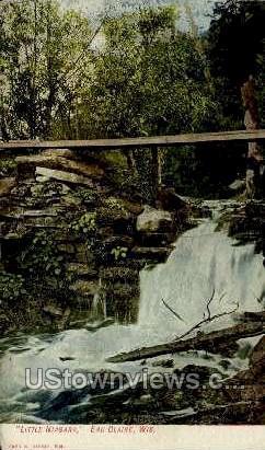 Little Niagara - Eau Claire, Wisconsin WI Postcard