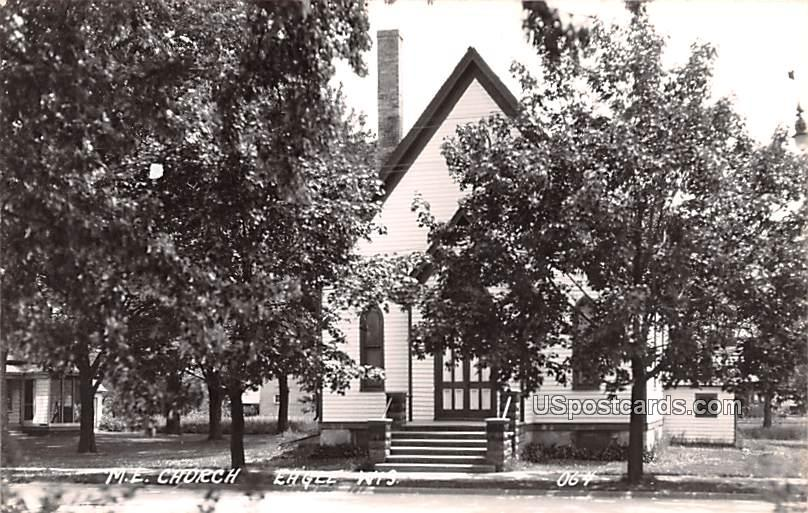 ME Church - Eagle, Wisconsin WI Postcard