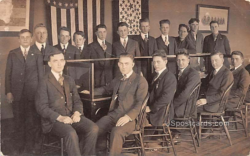 Group of Students - Eau Claire, Wisconsin WI Postcard