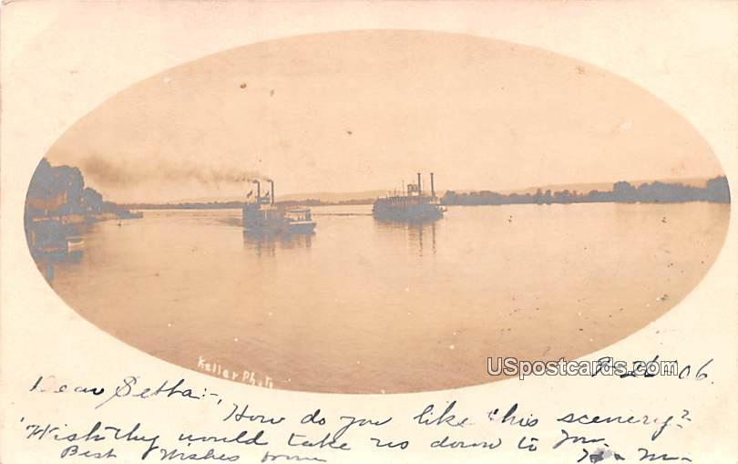 Lake View - Fountain City, Wisconsin WI Postcard