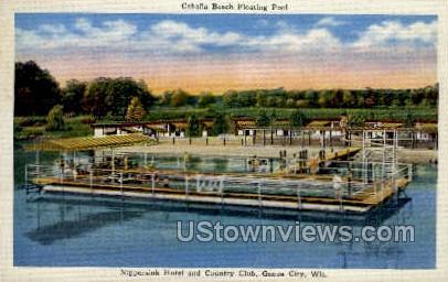 Nippersink Hotel & Country Club - Genoa City, Wisconsin WI Postcard