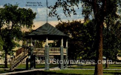 Whitney Park - Green Bay, Wisconsin WI Postcard