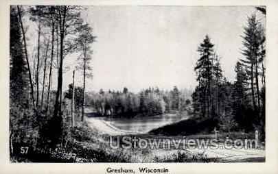 Gresham, Wisconsin Postcard