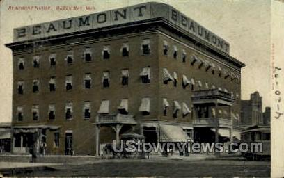 Beaumont House - Green Bay, Wisconsin WI Postcard