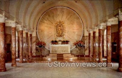 Holy Hill Shrine of Mary - Hartford, Wisconsin WI Postcard