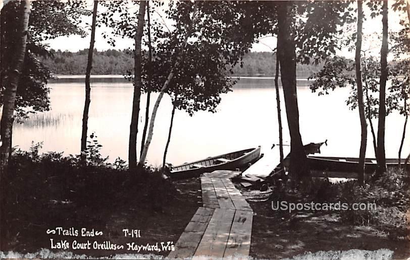 Trails End - Hayward, Wisconsin WI Postcard