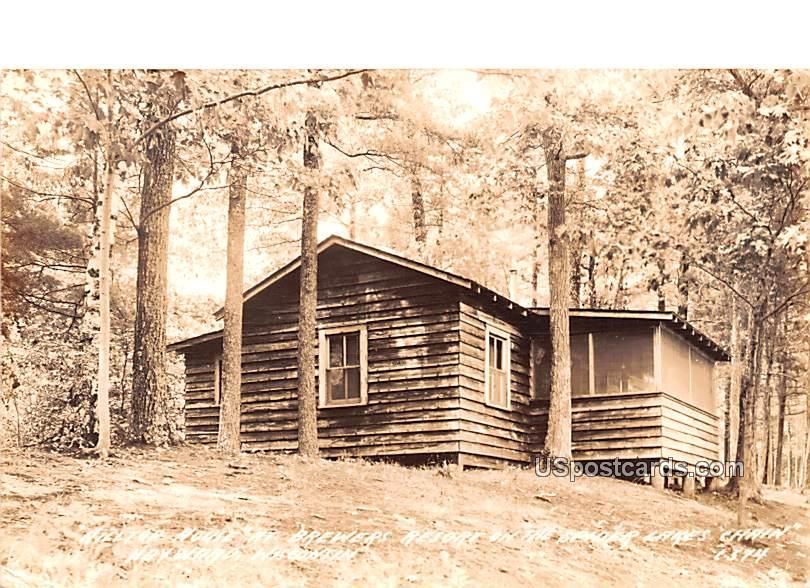 Hilltop House - Hayward, Wisconsin WI Postcard
