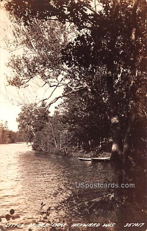 Little Spider Lake - Hayward, Wisconsin WI Postcard